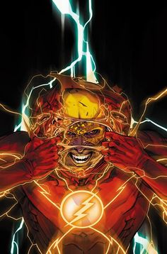 Flash e o Flash Reverso. Marvel Comics, Heros Comics, Flash Comics, Dc Comics Characters, Dc Comics Art, Marvel Vs, Flash Characters, Dc Heroes, O Flash