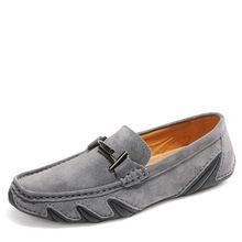 c1e3cbe003 2017 Homens Sapatos Casuais Homens Sapatos Mocassim Moda CowLeather  Condução Mocassins Homens de Negócios Apartamentos D49