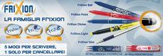 Pilot Frixion Ball: penne, pennarelli ed evidenziatori cancellabili