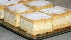 Recipe world: Grandma& heavenly cream cake - Backen - Churro Cheesecake, Classic Cheesecake, Easy Cheesecake Recipes, Dessert Recipes, Desserts, Sicilian Recipes, Hungarian Recipes, Romanian Food, Polish Recipes
