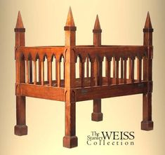 The Stanley Weiss Collection - Antique Gothic Crib