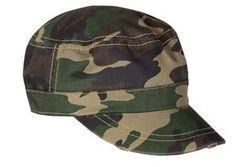 Distressed Military Cap $4.10 Military Cap, T Shirt Company, Army Camo, Caps Hats, Logo Branding, Camouflage, Baseball Hats, Cotton, Baseball Caps