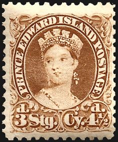 Stamps ©: Stamp of Prince Edward Island [{dual currency (sterling) or (Canadian) Queen Victoria stamp. Prince Edward Island, Vintage Stamps, Queen Victoria, Stamp Collecting, North West, Envelopes, Ephemera, Postcards, North America