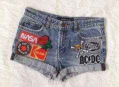 H.I.S Sunny Caprijeans Jeans Shorts Kurze Hose Pants Damen Hose Stretch