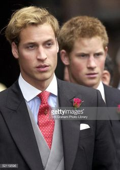 Prince William And Prince Harry With Their Cousin Laura Fellowes At... News Photo | Getty Images