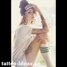 #hot #tattooed #girl