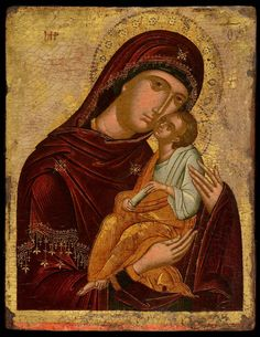 Mother of God Eleousa - Morsink Icon Gallery
