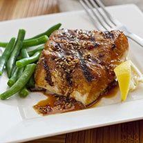 Striped Bass Recipe - Grilled Teriyaki Striped Bass   #Soy Vay