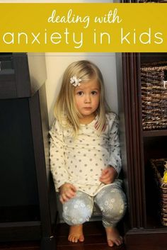 """Here are a few things that I do to help alleviate my child's anxiety in new settings or in high stress one (lots of people)..."" There are some good tips to try if you have an anxious child. :) 