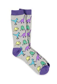 Dinosaur Crew Socks   Forever 21 - 2002247537