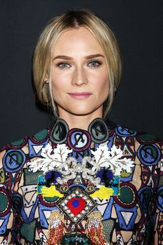 Diane Kruger's braid will blow your mind