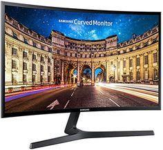"""Samsung LC27F396FHUXEN Monitor Curvo Full HD da 27"""", Nero: Amazon.it: Informatica"""