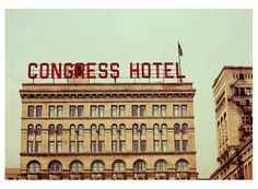 Alicia Bock-  Congress Hotel #chicago
