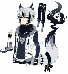 Read First things first. from the story Abused and Neglected Male reader x RWBY by ZEFFEX (ShiroKage) with reads. Anime Oc, Fanarts Anime, Boy Character, Game Character Design, Fantasy Character Design, Character Design Inspiration, Wolf Boy Anime, Boys Anime, Supernatural