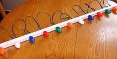 How to hang Christmas Lights the easy way!