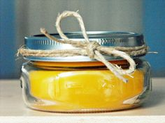 Beeswax candle tutorial. Who knew you could just put them in the oven -- so easy & awesome!