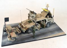 M1114 Humvee with Mine Rollers (USA)