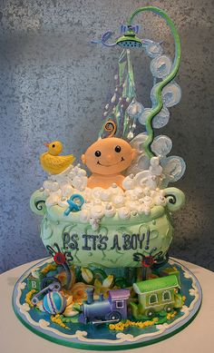 baby shower cake   #timelesstreasure
