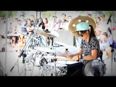 """Hottest new Female Pop drummer A -Yeon Amazing Korean girl! Bebop's amazing beautiful and talented drummer -~-~~-~~~-~~-~- Please watch: """"The 2016 Guitarist ..."""