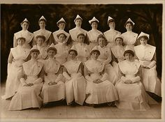 This is the 1915 Peter Bent Brigham School of Nursing class.  My grandmother graduated from this school in the 1950's and today I work at Dana Farber, Brigham's affiliate cancer hospital.  I am incredibly proud to be a nurse and cannot imagine a more fulfilling career.