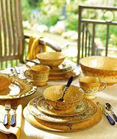 The Tuscan Kitchen: Vietri Francesca Blu
