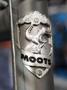 Moots headtube badge.