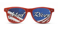 Custom printed Sunglasses to help you to promote your company and or event.  So much fun. #madriver #brandsuccess  Just ask us how 609 807 8856