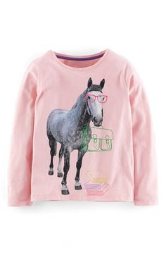 Mini Boden Photographic Animal Tee (Toddler Girls, Little Girls & Big Girls) available at #Nordstrom