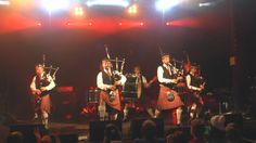 Get ready to rock out. You'll believe that bagpipes are the original heavy metal instruments when you see this Highland band's awesome medley of classic heavy rock songs.