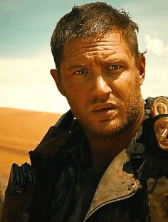 Tom Hardy - Mad Max. cant wait to see this! so damn good looking