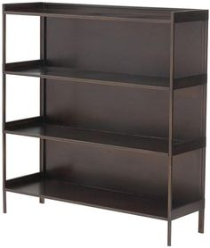 Cole Wide Metal Bookshelf Home Decorators Collection $251