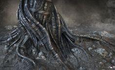 Мрачные иллюстрации от Митча Грейва и Томаша Стражалковски Митч  Грейв, Томаш Стражалковски, монстры, существа