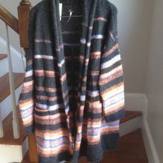 Free People Alpaca Wool Cardigan Final Price! New with tags. Beautify and super soft. Hand size pockets. Free People Sweaters Cardigans