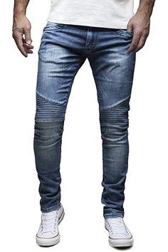 Denim Jeans, Trends, Biker Style, Slim Fit, Stretch Jeans, Pocket, Fitness, Pants, Clothes