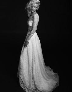 Rime Arodaky - Robes de mariees sur mesure - Paris - collection 2015 - Top Timothy - Jupe Sutton   la mariee aux pieds nus