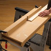 Free portable router table woodworking plan
