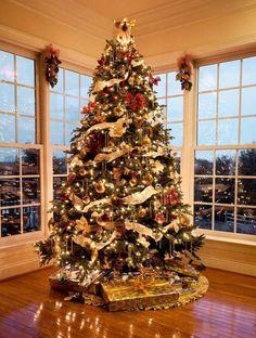 Les plus beaux sapins de Noel vus sur Pinterest 8