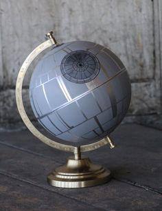 """Globe """"étoile de la mort"""""""