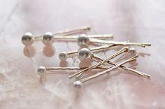 mermaid pearl hairpins at chanel via thisisglamorous