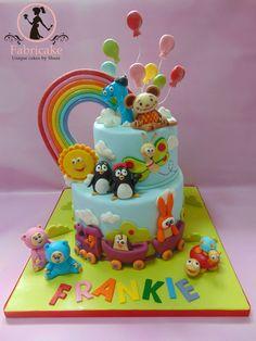 Baby Tv Cake Baby Tv Cake, Baby Boy Birthday Cake, 1st Birthday Cakes, Friends Cake, Cupcake Cakes, Cupcakes, Fondant Baby, Cake Pictures, 1st Birthdays