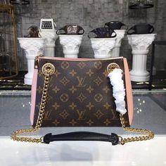 c079f2c5de33 Louis Vuitton Monogram Canvas Surene BB with Rose poudre Leather M43777   Louisvuittonhandbags Cheap Bags