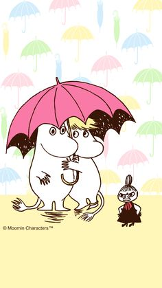 All things moomin. Moomin Wallpaper, Iphone Wallpaper, Little My Moomin, Les Moomins, Cartoon Hippo, Tove Jansson, Moomin Valley, Old Cartoons, Cute Wallpapers