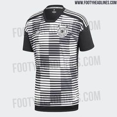 65ad6ba809e Adidas Parley Germany 2018 World Cup Pre-Match Jersey Leaked - Footy  Headlines World Cup