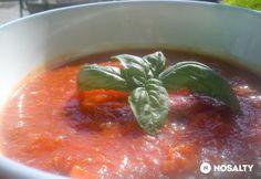 Bolognai mártás alap zöldfűszeresen | NOSALTY Bologna, Pesto, Strawberry, Stuffed Peppers, Vegetables, Fruit, Food, Stuffed Pepper, Essen