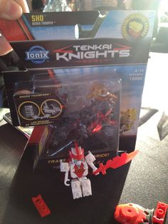 Tenkai knights by ionix/ spin master - fun and compatible with Legos. #chitagfair