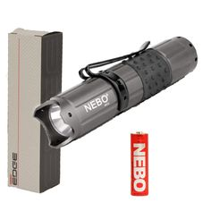 Nebo 5519 CSI Edge 50 Lumen LED Tactical Flashlight - Gunmetal -- More info could be found at the image url.