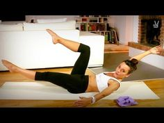 ▶ Pilates Flat Abs: Fortgeschrittene Übungen für sexy, flache Bauchmuskeln - YouTube