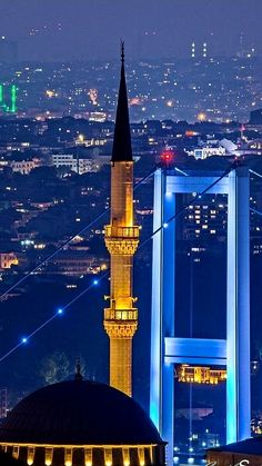Istanbul TURKEY Most Beautiful Cities, Beautiful World, Islamic Sites, Ankara, Visit Turkey, Istanbul City, Five Star Hotel, Islamic Architecture, Islamic Pictures