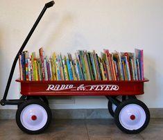 Wagon Bookcase