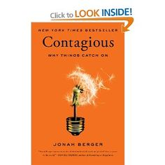 """Contagious: Why Things Catch On: Jonah Berger. What  are you reading this summer? We're really enjoying """"Contagious"""" by Jonah Berger - the ideas that catch on are really the ones where people are """"listening"""" to their peers Harvard Business Review, Stumbling On Happiness, Psy Gangnam Style, Books To Read, My Books, Life Changing Books, Date, Reading Lists, Reading Nook"""